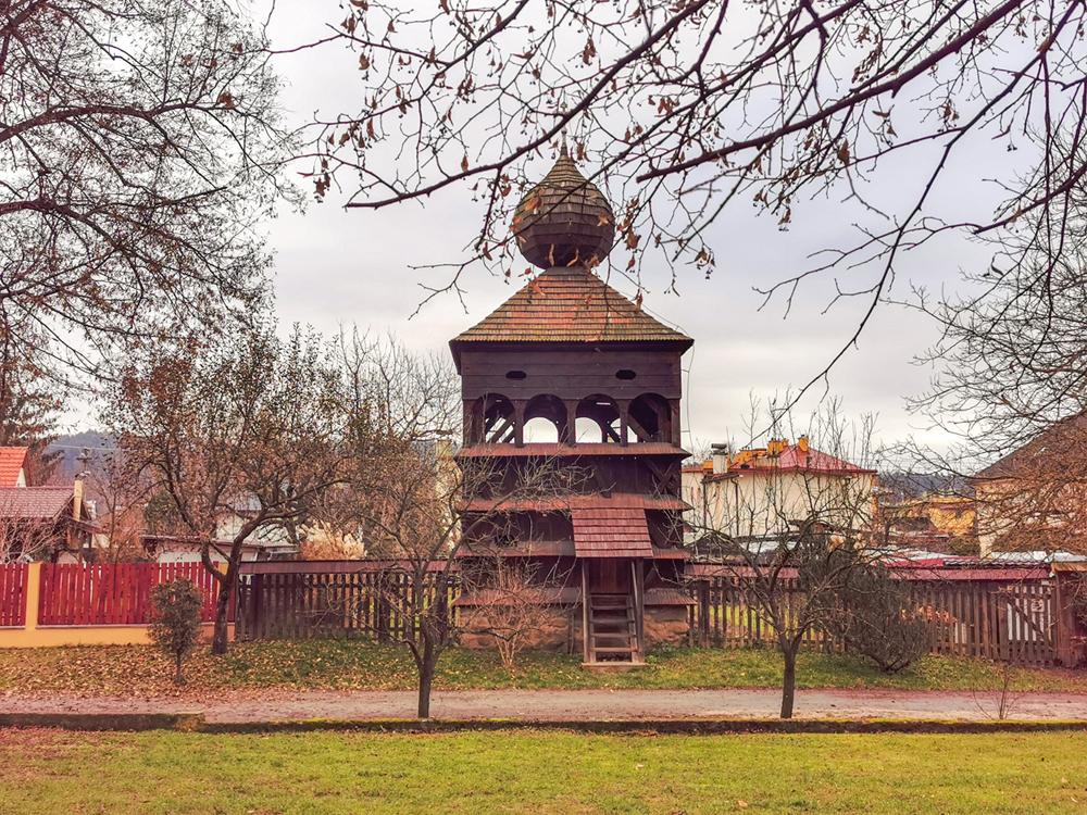 Hronsek - Drevená zvonica