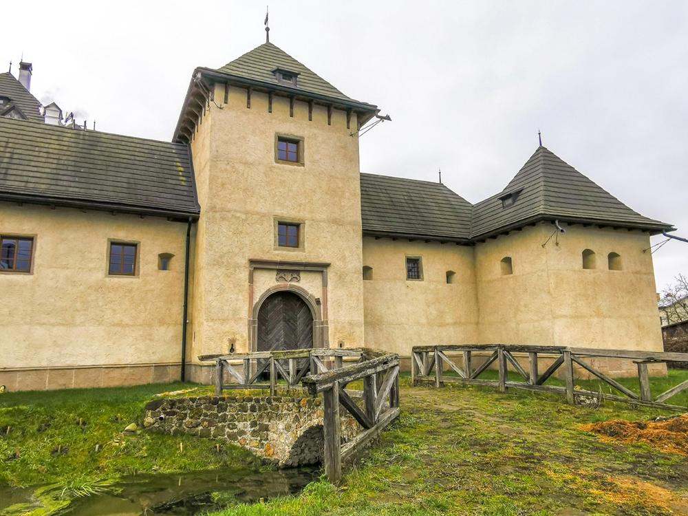 Vodný hrad momentálne nie je prístupný verejnosti