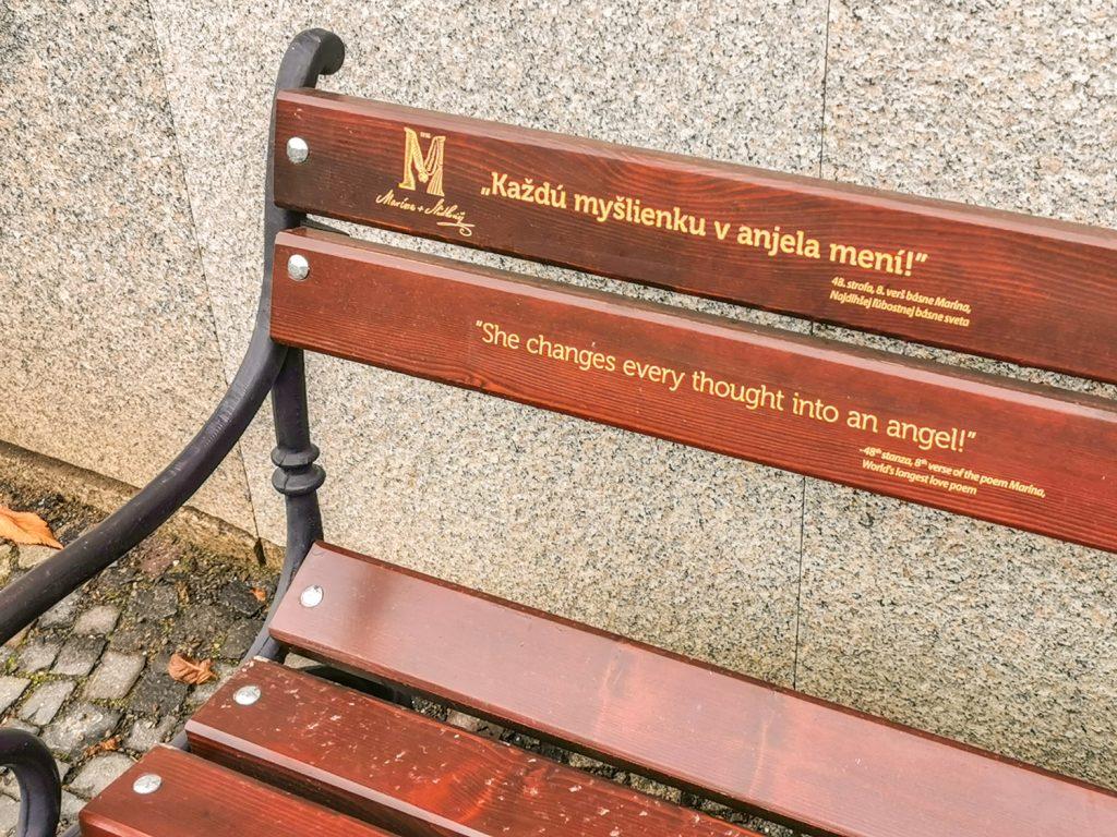 Banka Lásky - Zaľúbená lavička
