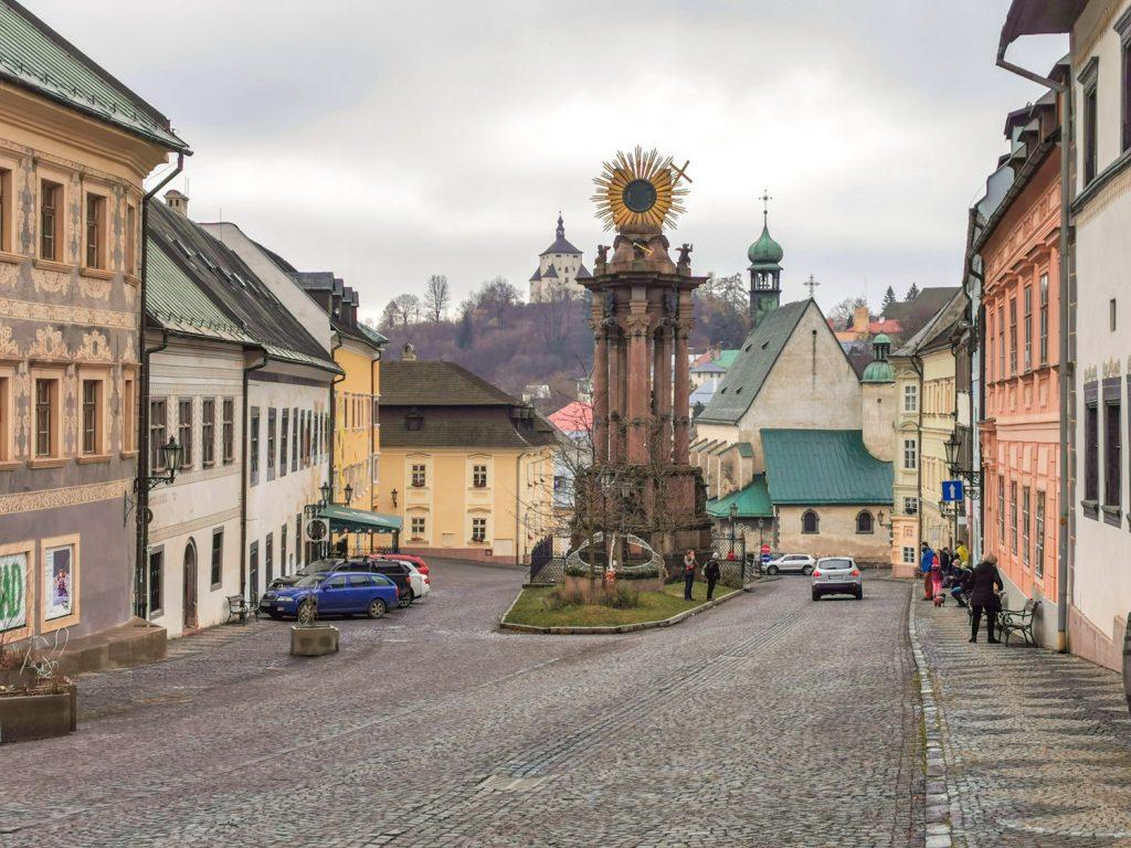 Banská Štiavnica - Morový stĺp