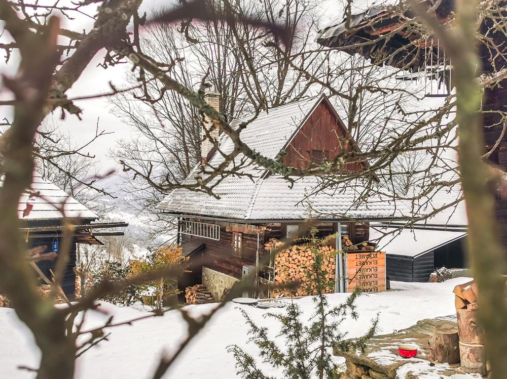 Marunovci - Drevenice sa využívajú hlavne ako chaty