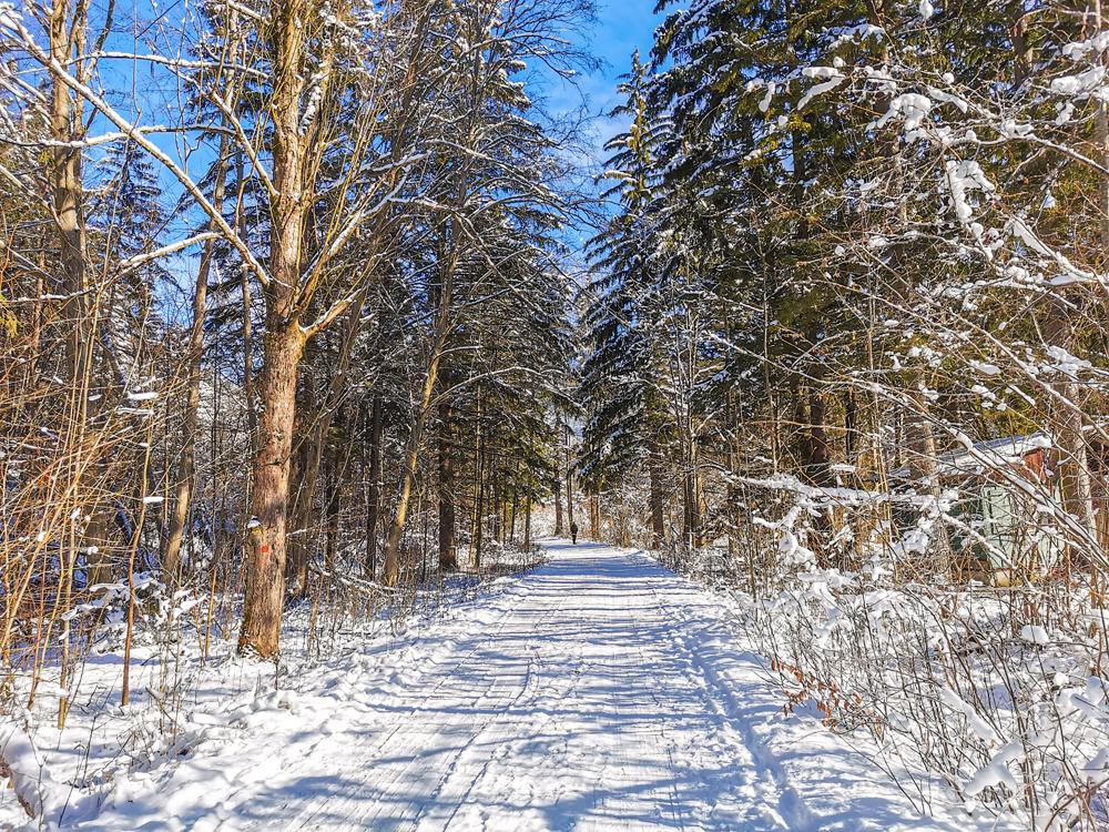 Gaderská dolina v zime