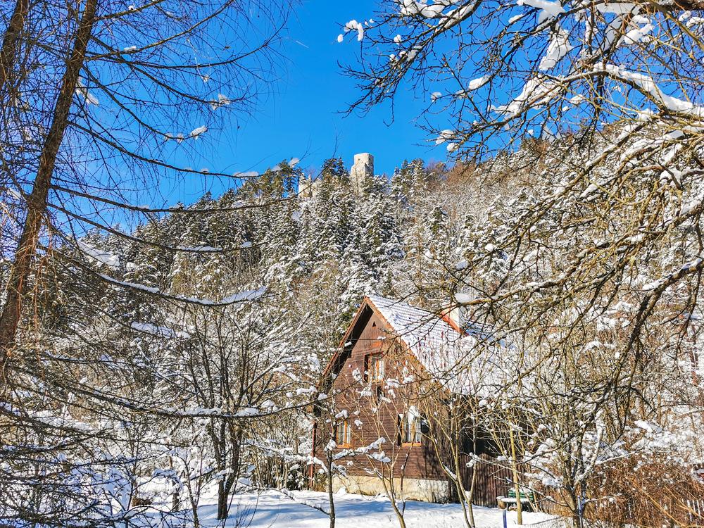 Gaderská dolina - Hrad Blatnica