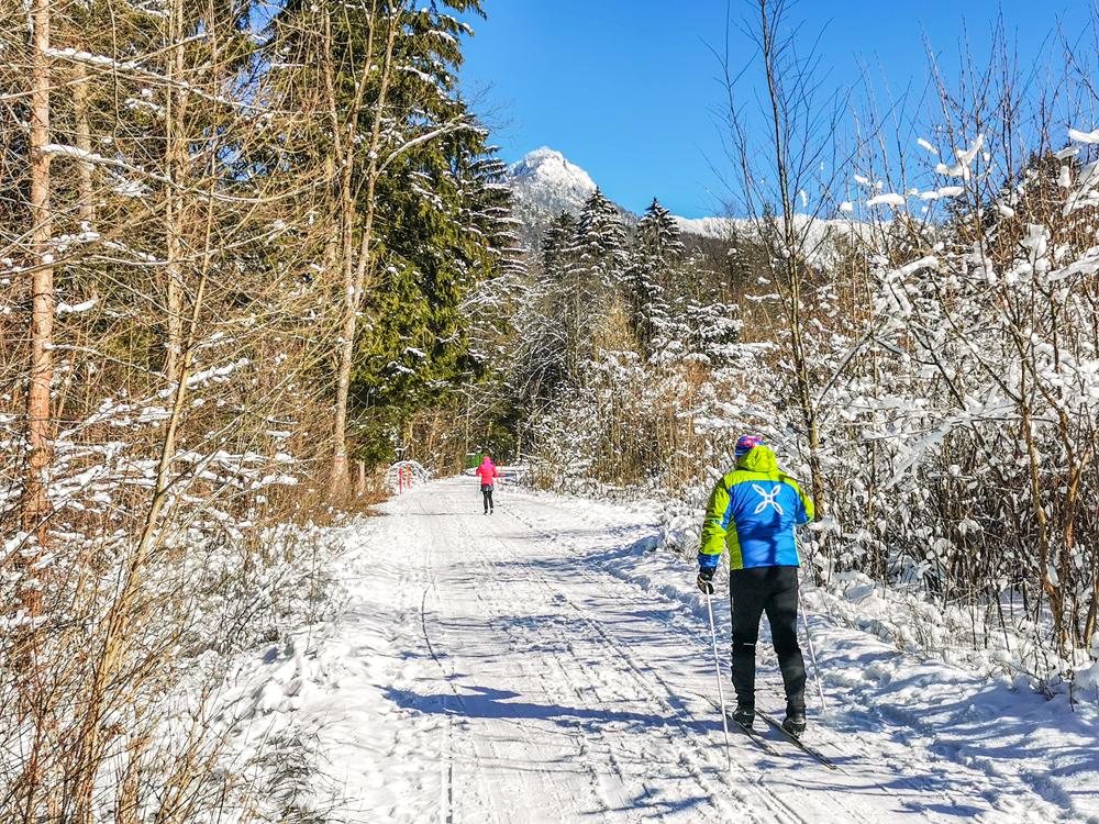Gaderská dolina -  V zime dolinu často využívajú bežkári