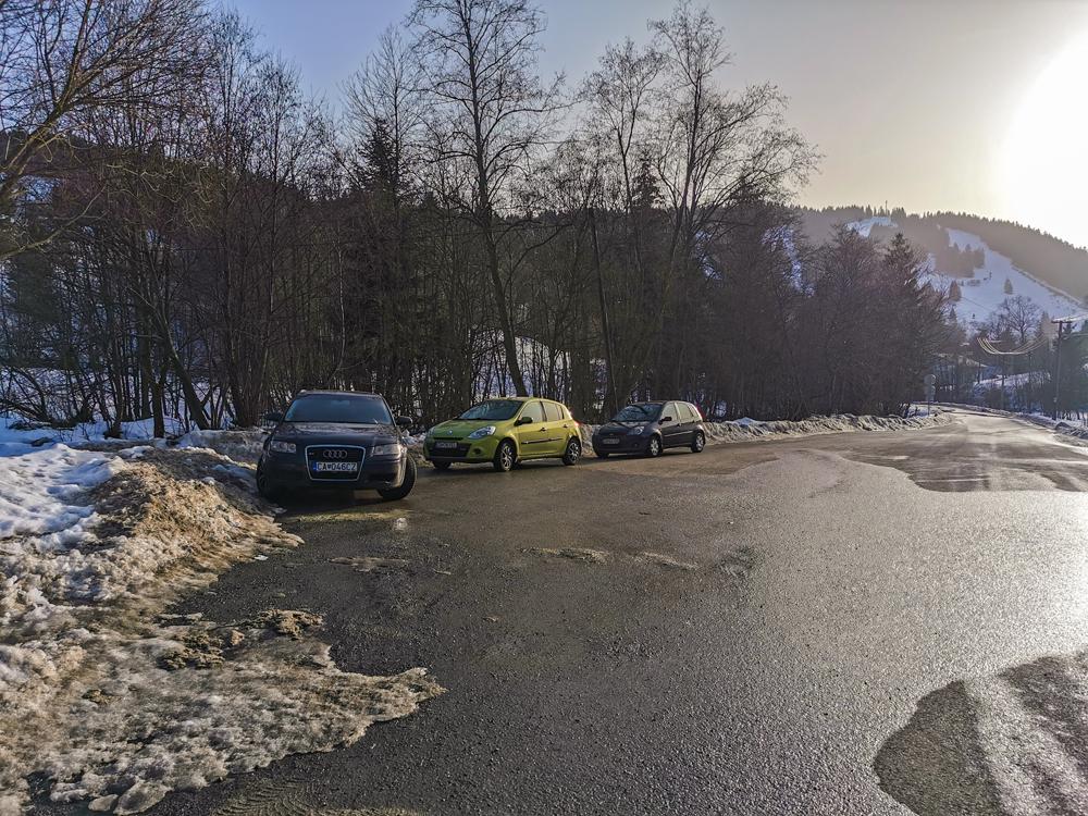 Zázrivá - parkovanie