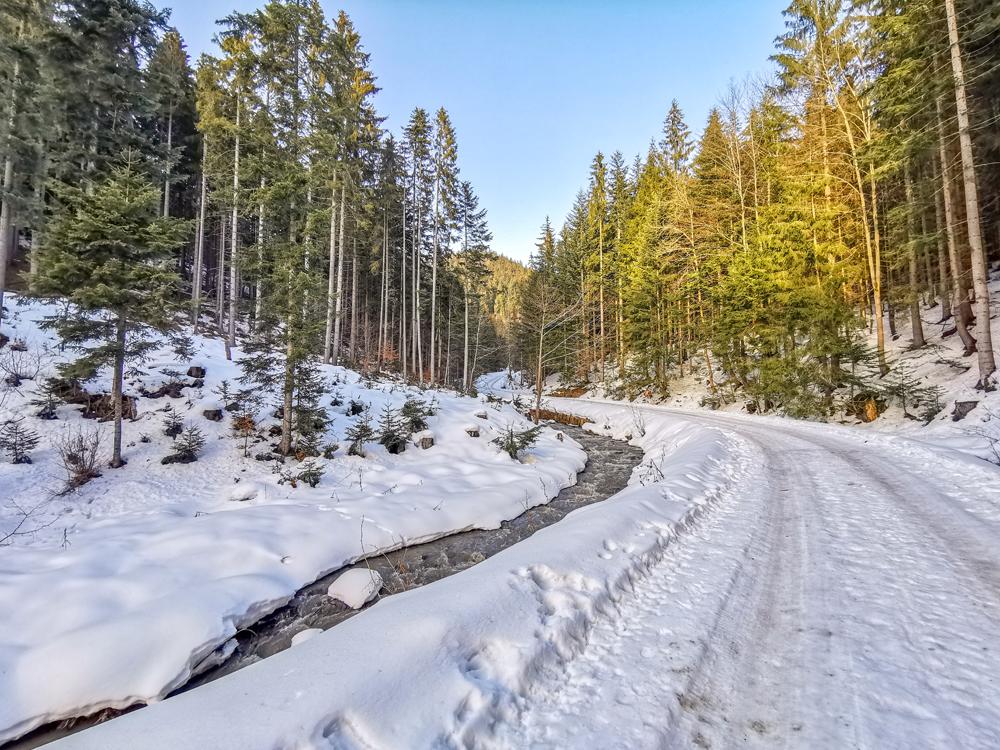 Zázrivská hojdačka - cesta