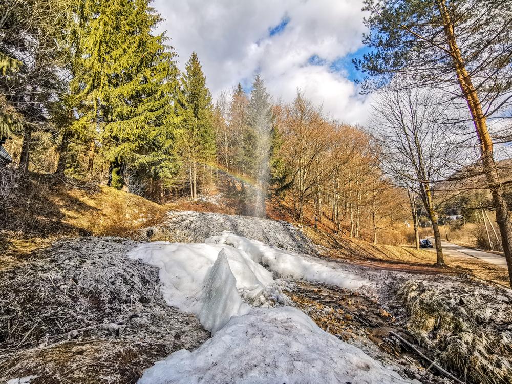 Ľadový gejzír Rajecká Lesná