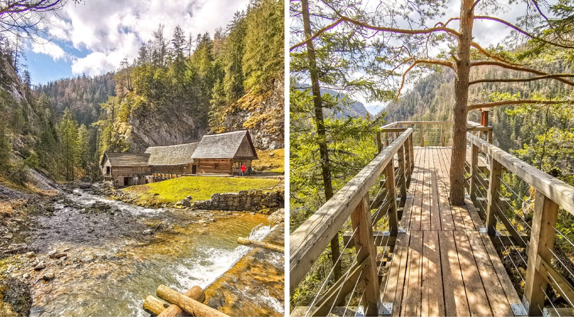 Kvačianska dolina – Vodné mlyny Oblazy a Vyhliadka Malý Roháč