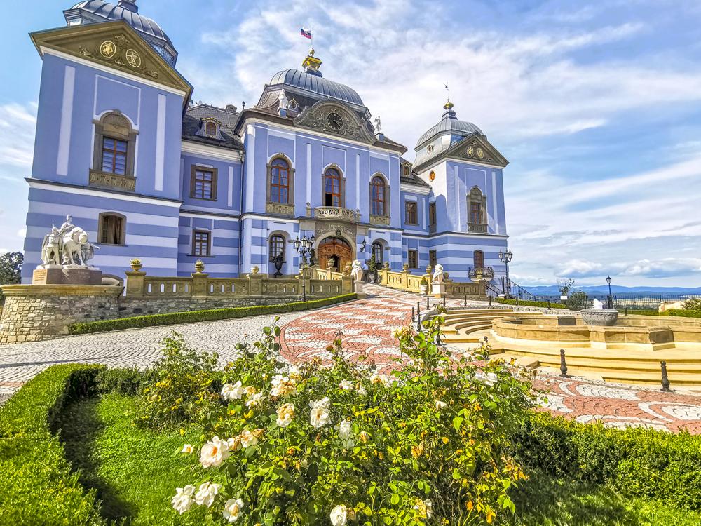 Novohrad - Haličský zámok - Zámocký hotel Galicia Nueva Halič