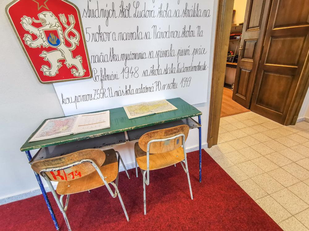 Lučenec - Škola v minulosti