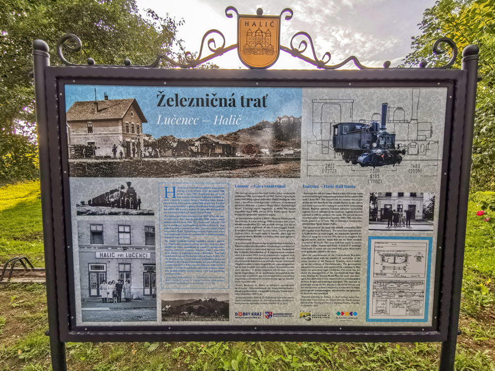 Halič - železničný domček