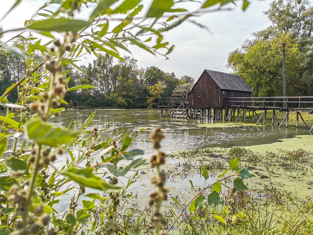 Vodný mlyn v Tomášikove