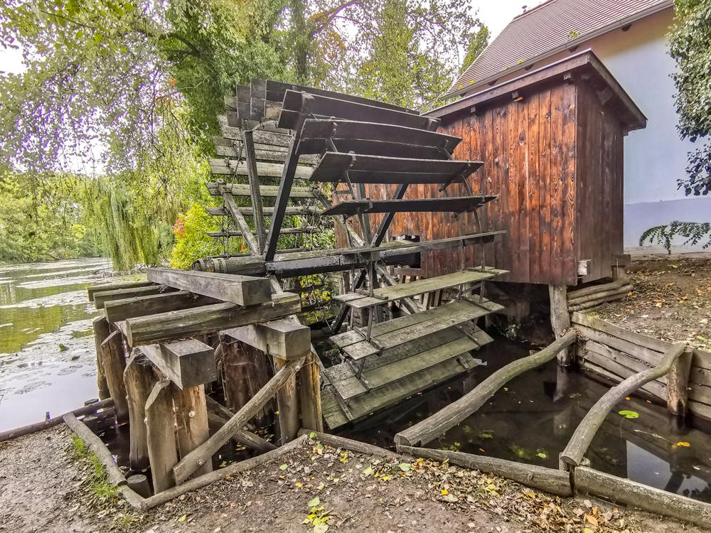 Vodný mlyn Dunajský Klátov