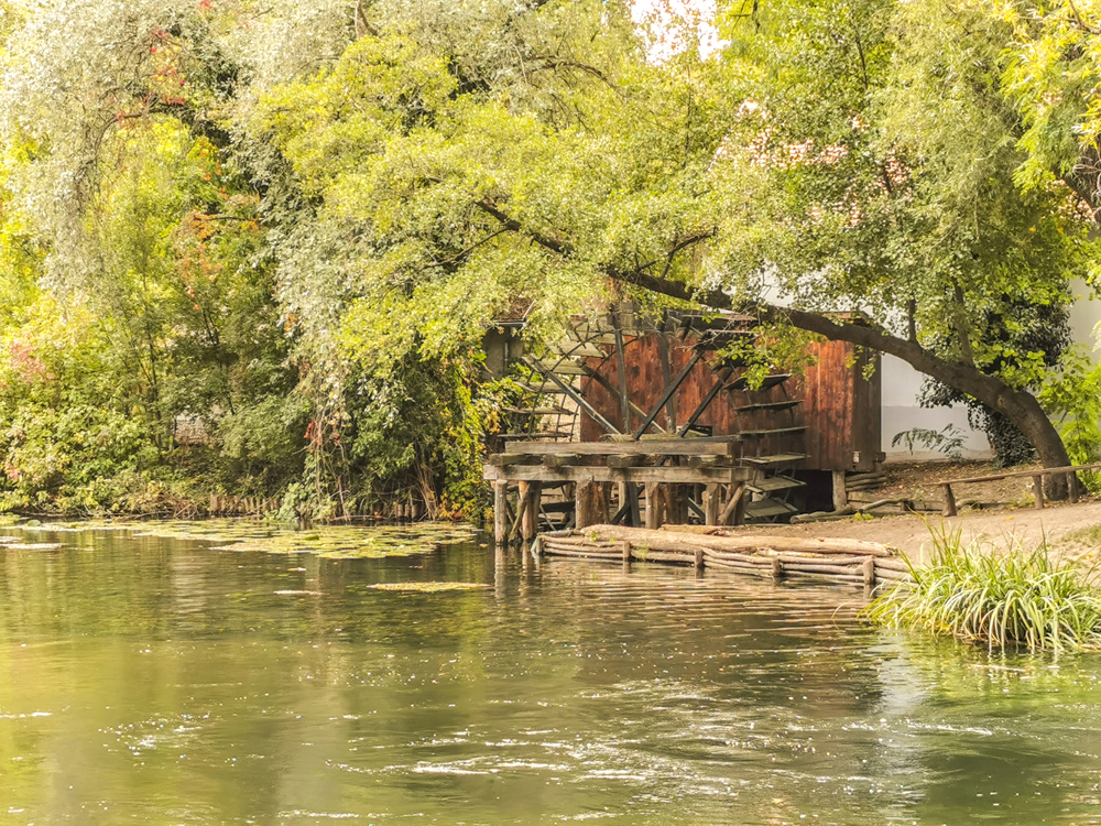 Vodné mlyny na Malom Dunaji - Dunajský Klátov