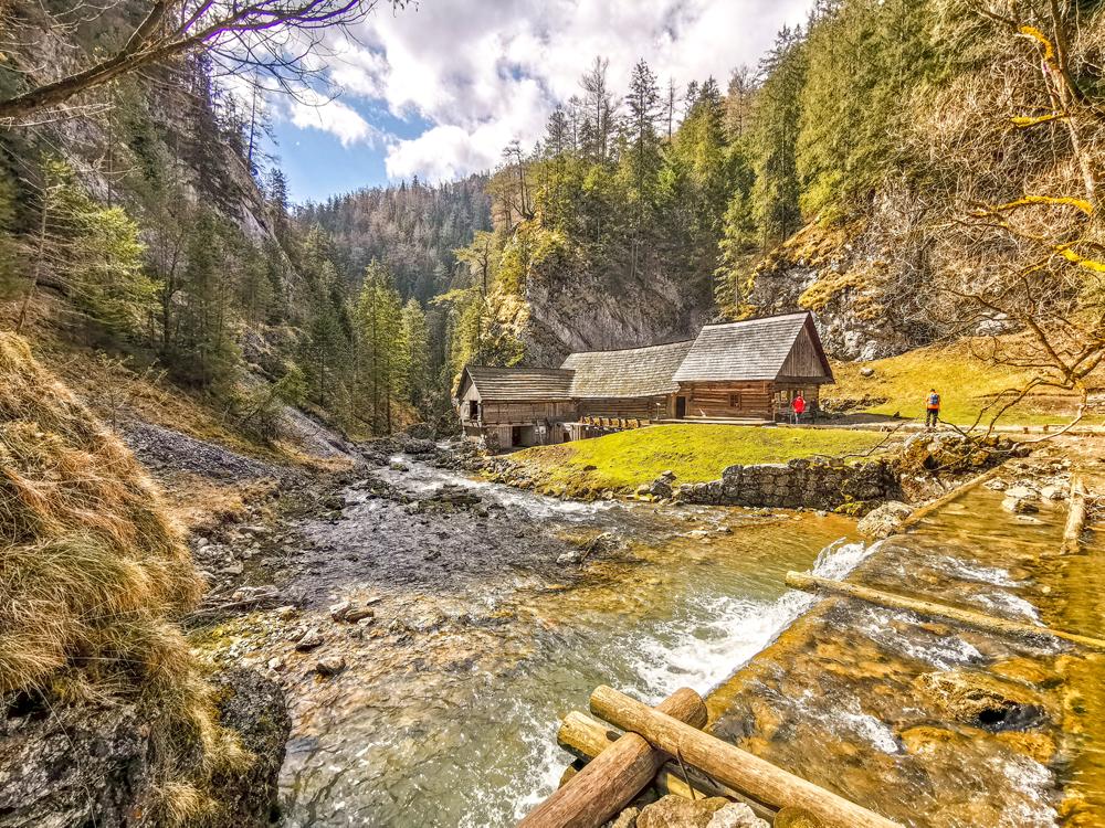 Kvačianska dolina - Vodné mlyny Oblazy