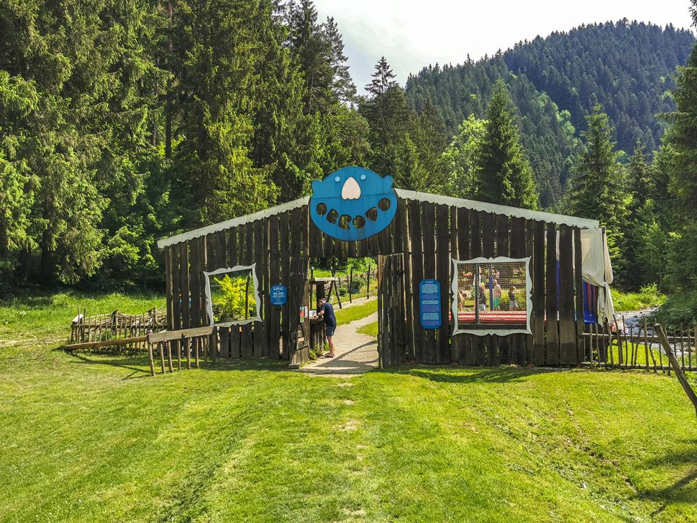 Obrovo - zábavný areál pre deti v Čutkovskej doline