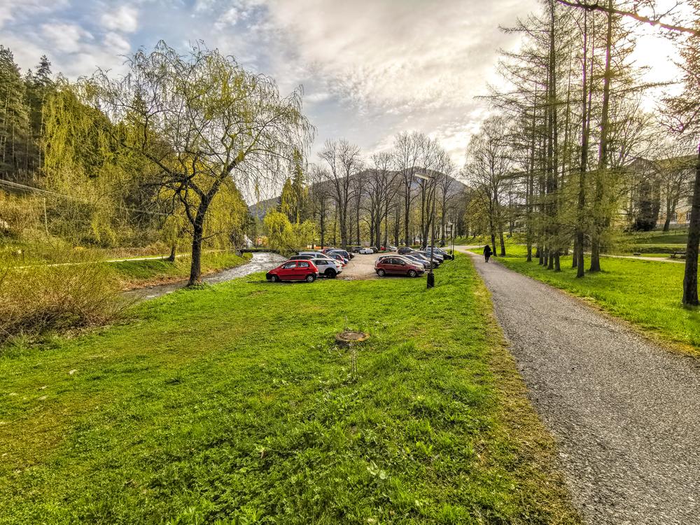 Parkovanie v Ľubochni