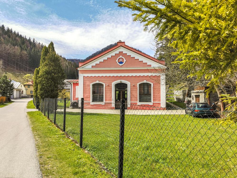 Elektráreň bola postavená v roku 1904