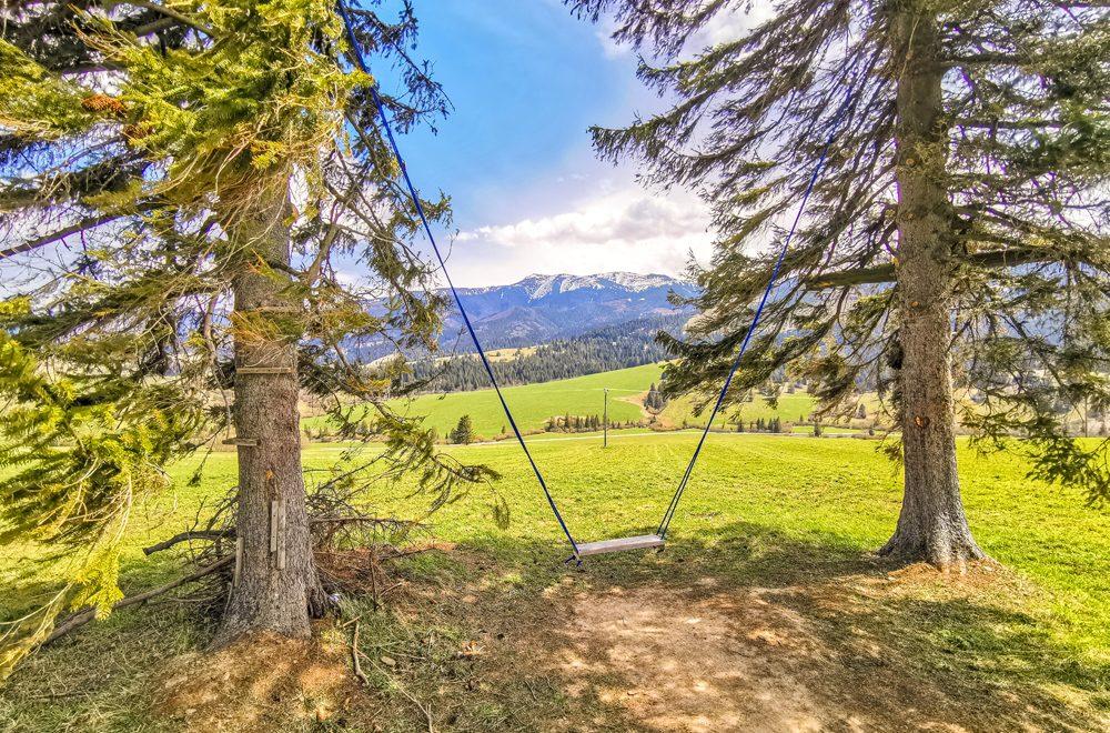 Zuberec – Hojdačka s výhľadom na Západné Tatry – Roháče
