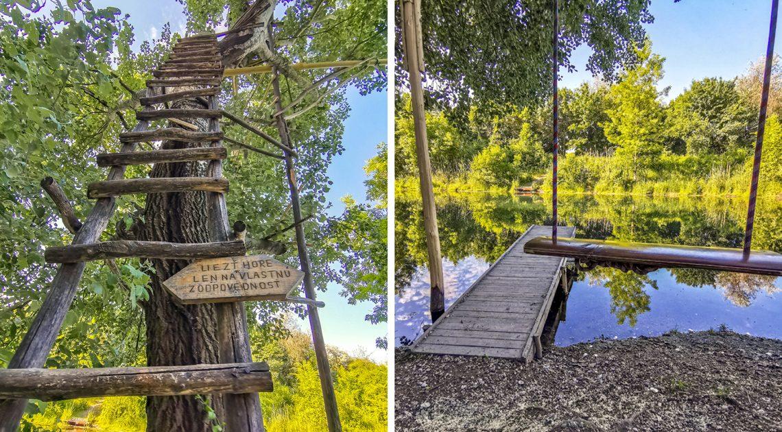 Kalinkovo a Hamuliakovo – Prírodná rozhľadňa a hojdačka pri Dunaji