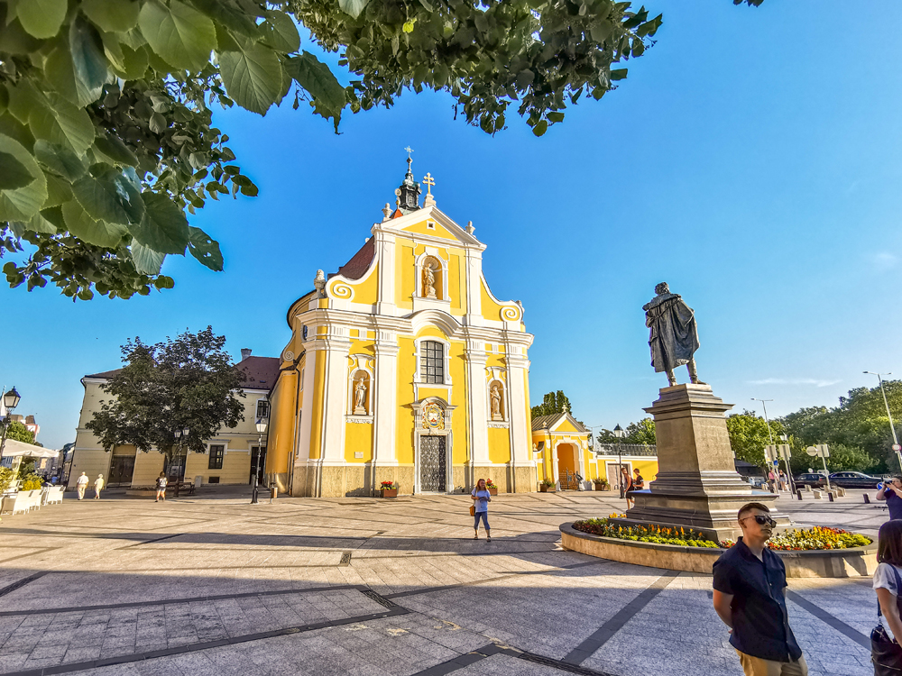 Prechádzka po meste Győr