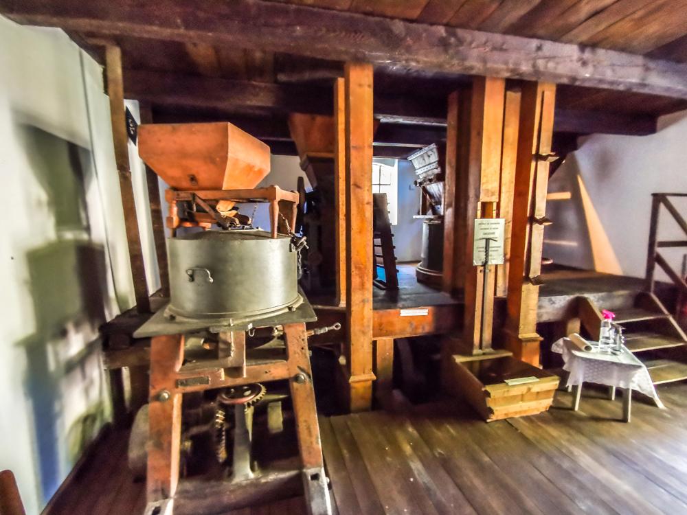 Dunajský Klátov - interiér vodného mlyna