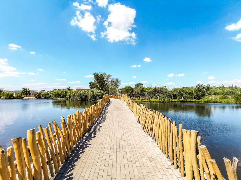 Malkia Park - celý priestor je bezbariérový