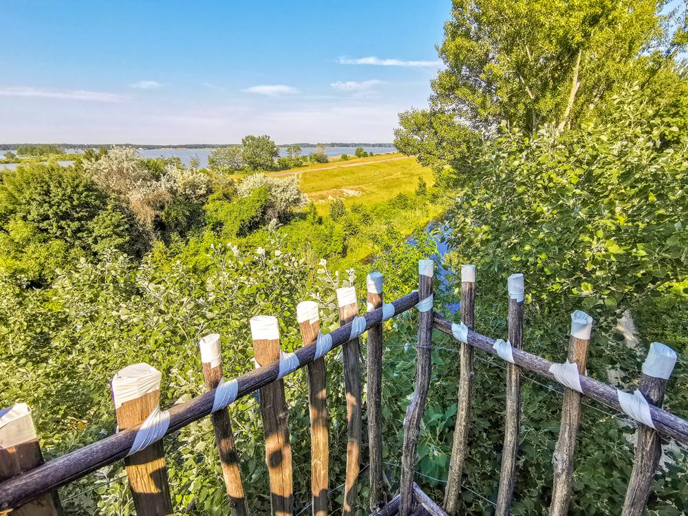 Rozhľadňa v Hamuliakove a Kalinkove - Výhľad na okolie