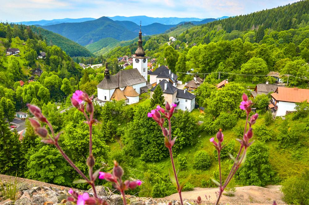 Banskobystrický kraj - Špania Dolina