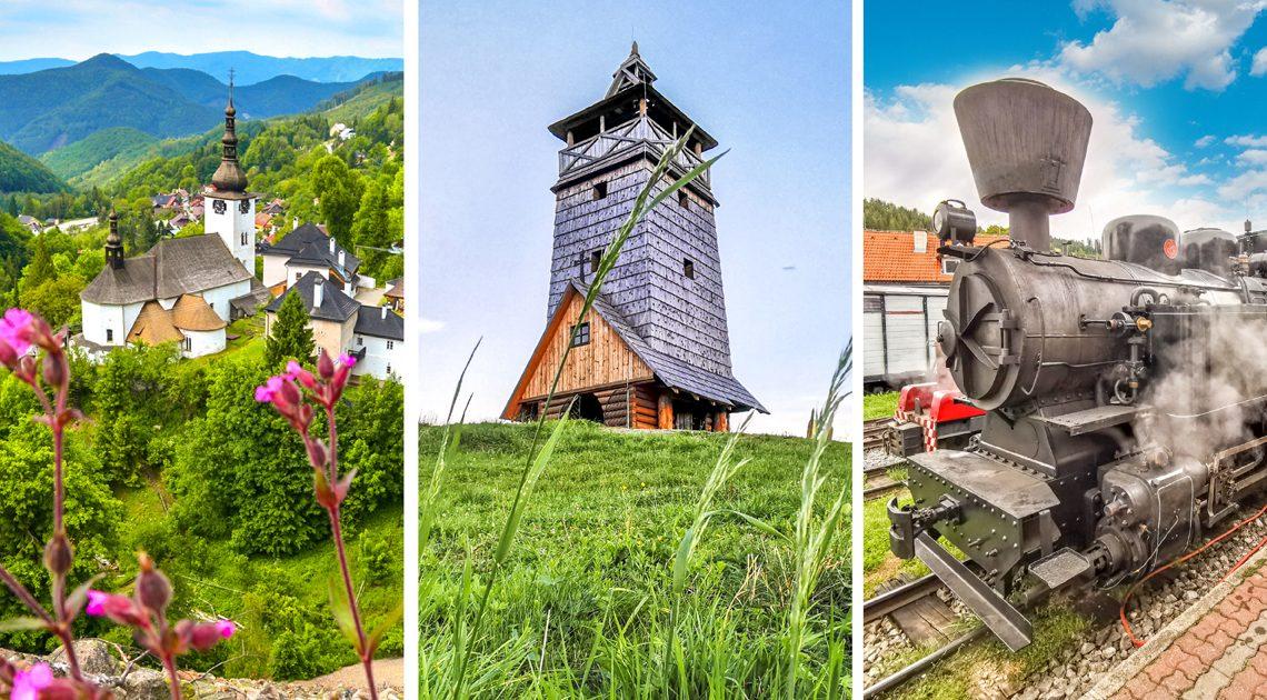 Banskobystrický kraj – 50+tipov na zaujímavé výlety na strednom Slovensku