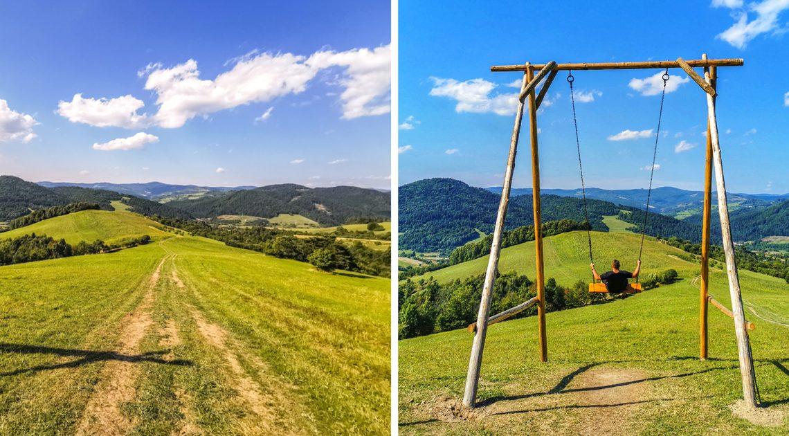 Lysá pod Makytou – Hojdačka Strelenka nad osadou Ondričkovci