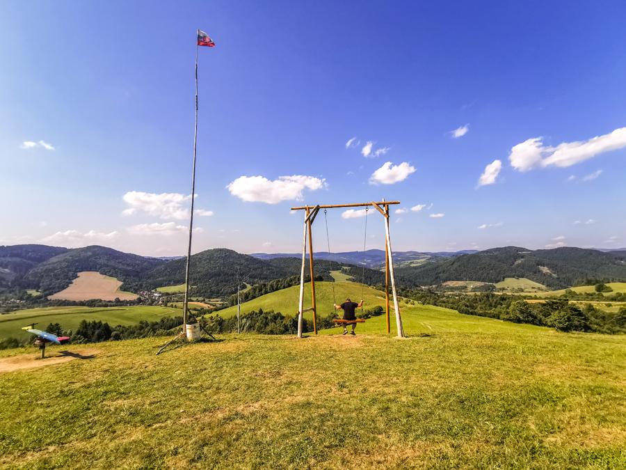 Hojdačka Strelenka v osade Ondričkovci
