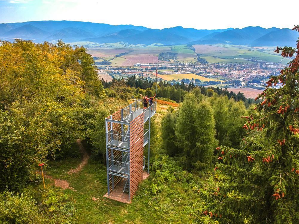 Rajecká dolina - Rozhľadňa Dubová