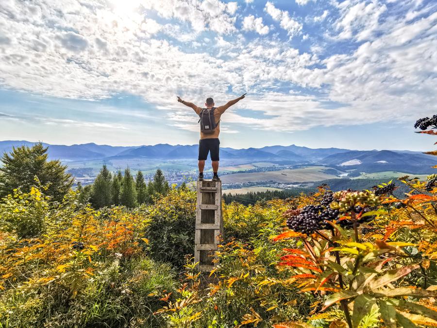 Rozhľadňa Dubová - Rebrík do neba