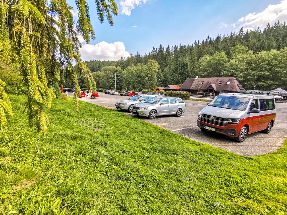 Na parkovisku vo Vydrove