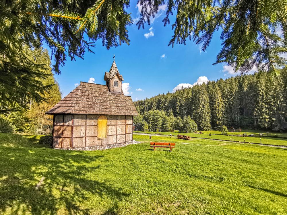 Horehronie - Lesnícky skanzen vo Vydrovskej doline