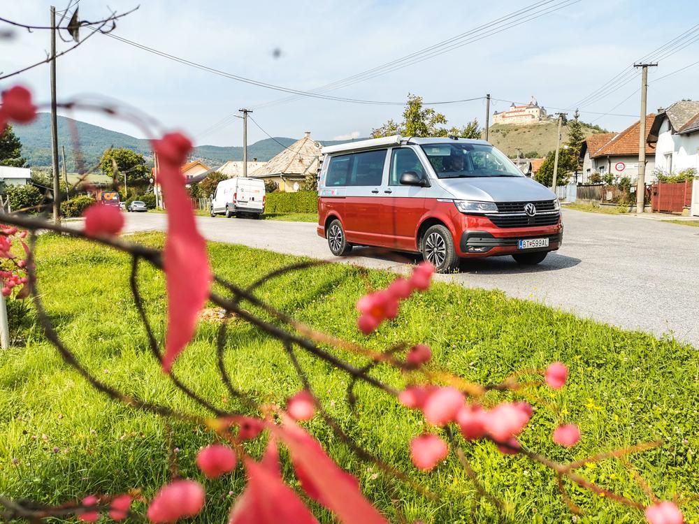 S VW California v Krásnohorskom Podhradí