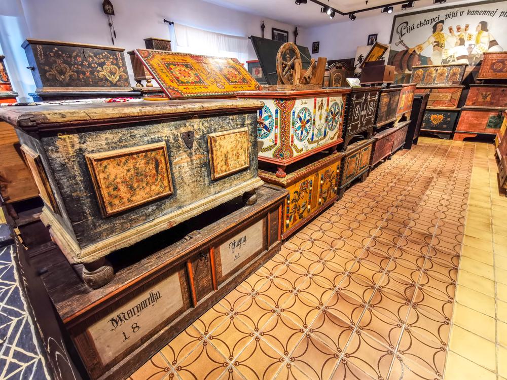 Najstaršia truhlica je z roku 1767