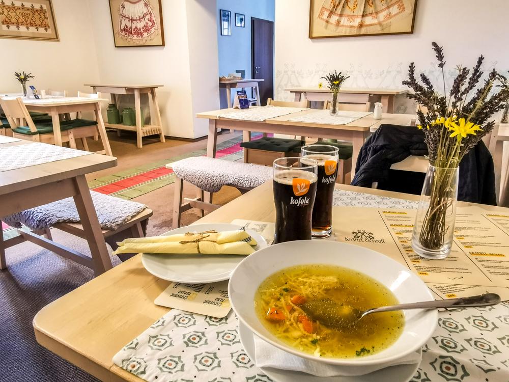 Reštaurácia v Kaštieli Čičmany