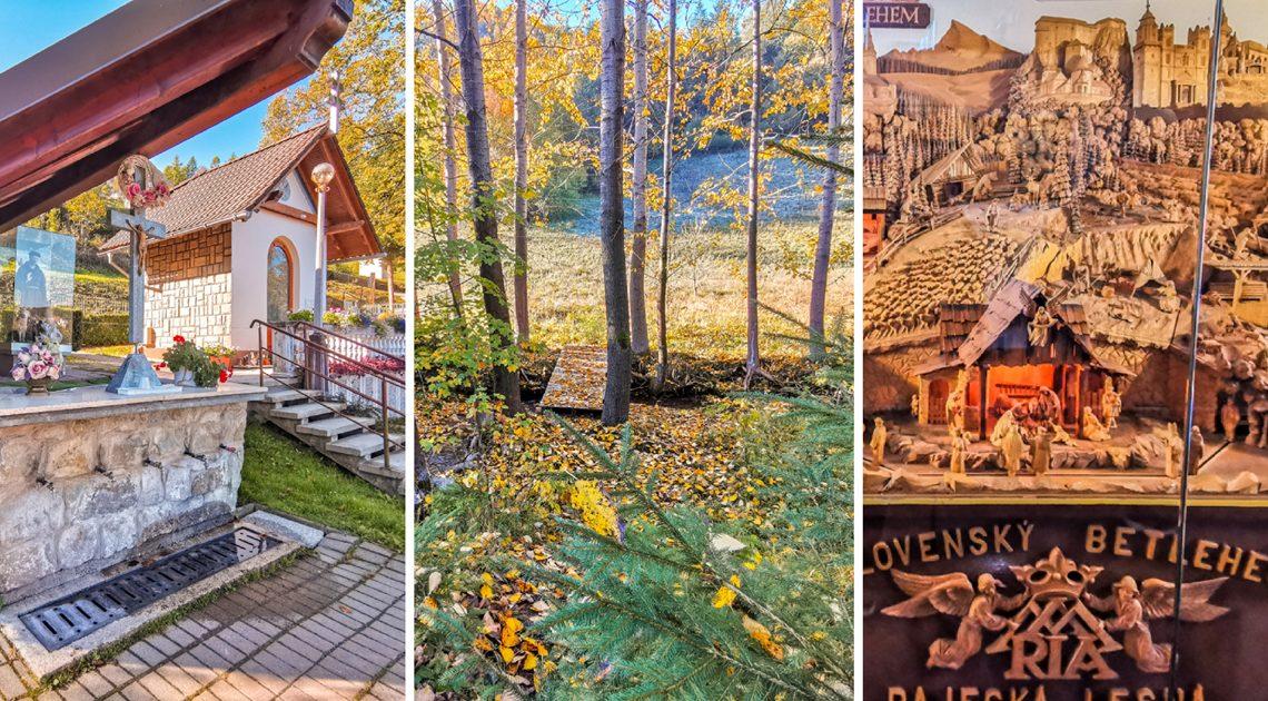 Rajecká dolina – Čarovná jeseň v obci Rajecká Lesná
