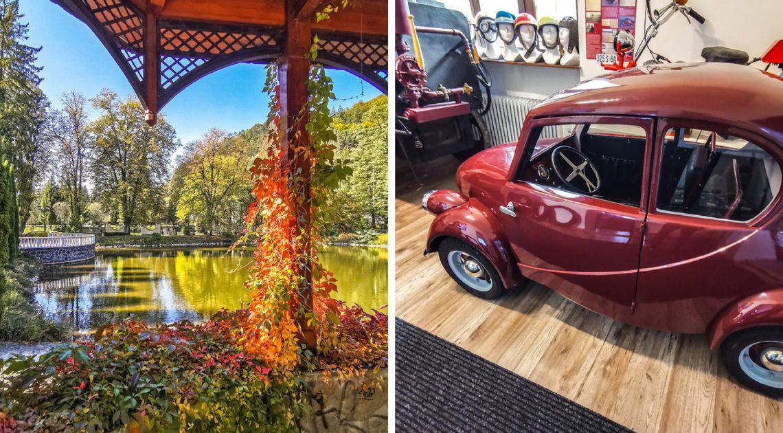 Rajecké Teplice – Múzeum dopravy a farby jesene Rajeckej doliny
