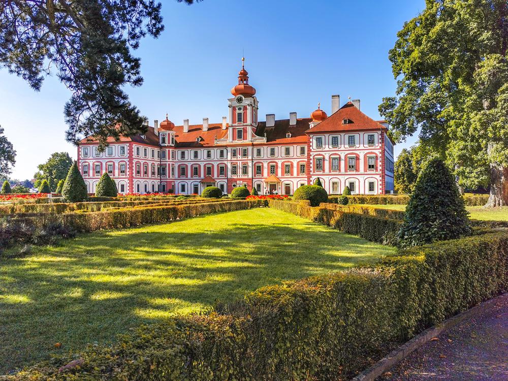 Zámky v Českej republike - Mníchovo Hradište