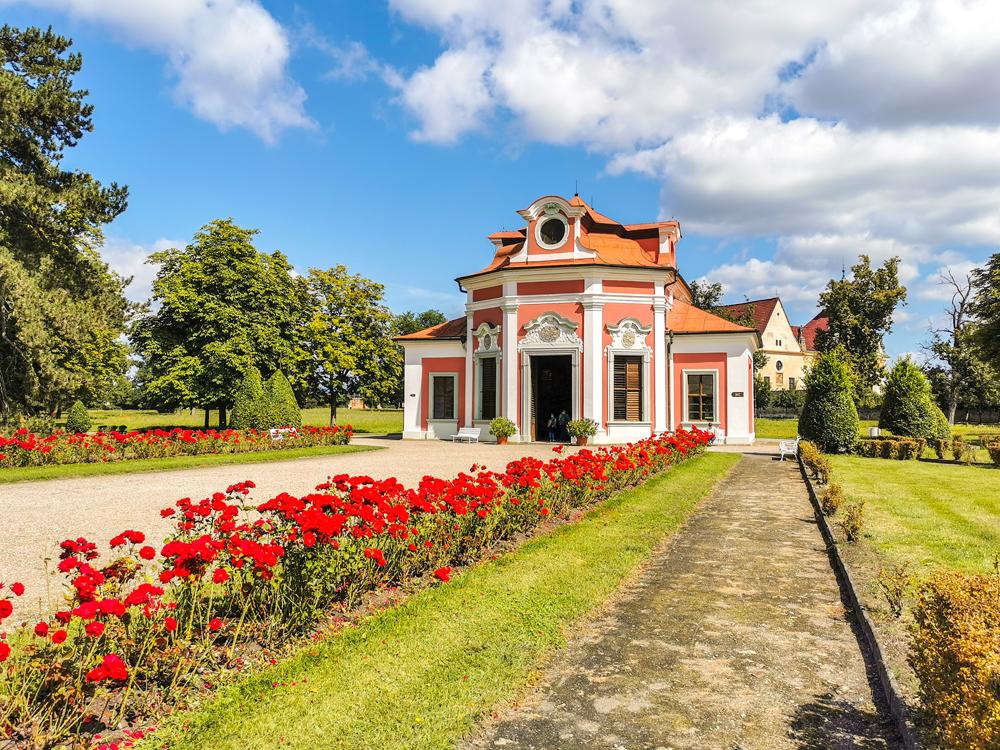 Stredočeský kraj - Zámok Mnichovo Hradiště