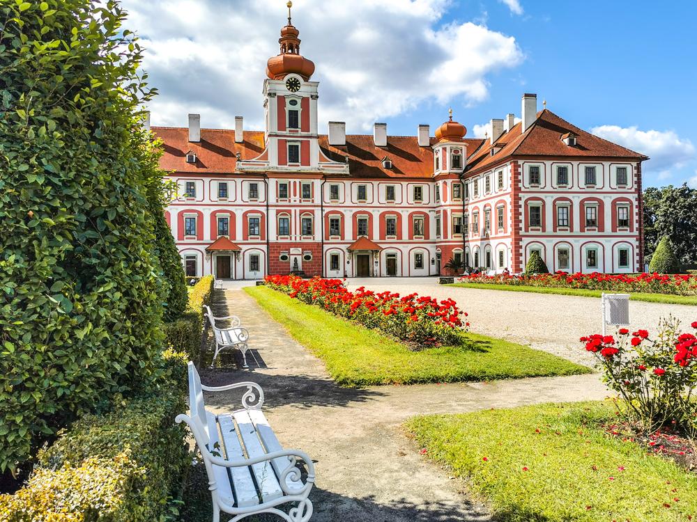 Zámky v Českej republike - Zámok Mnichovo Hradiště
