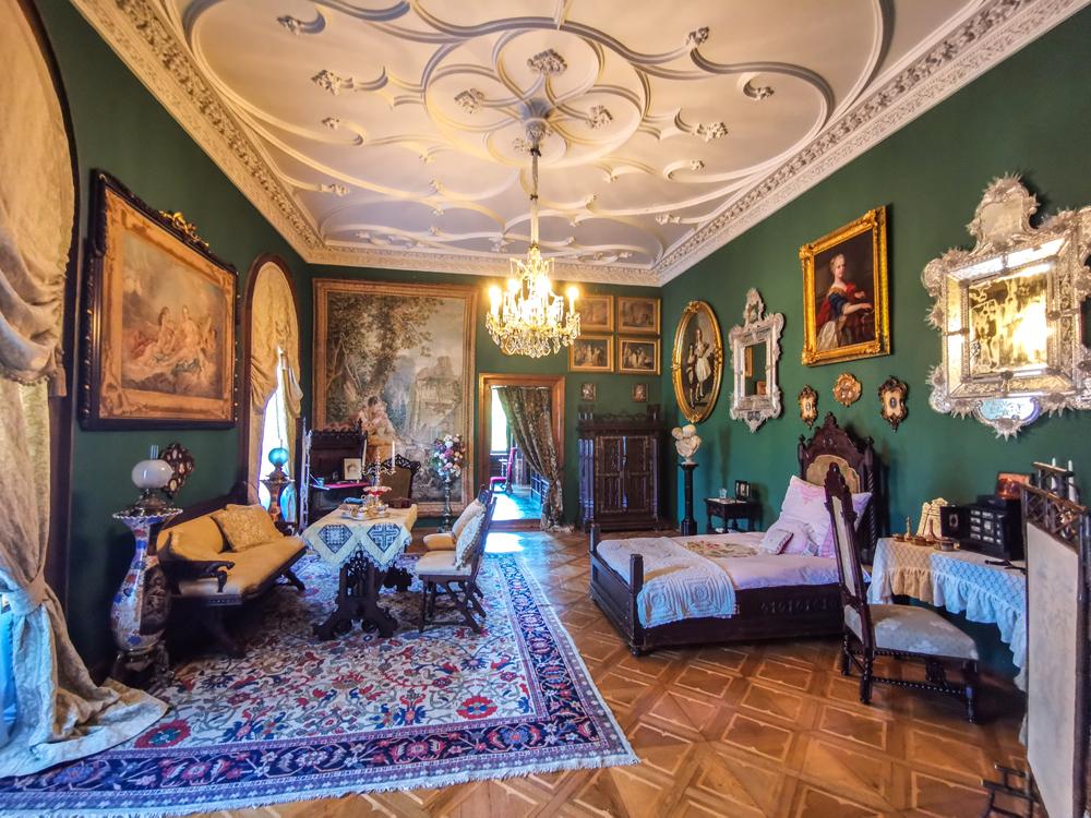 Interiér zámku Sychrov