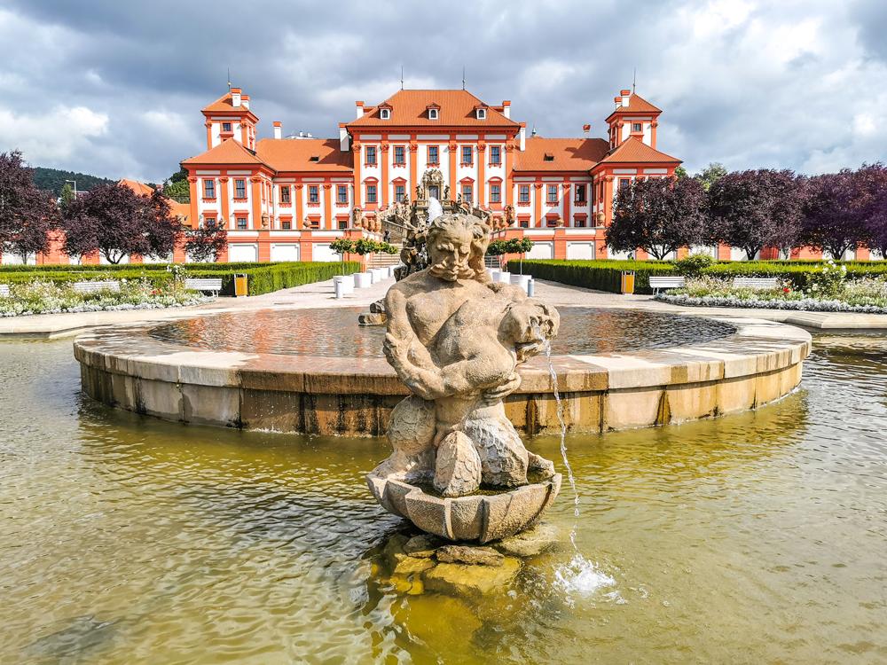 Zámky v Českej republike - Trojský zámok v Prahe