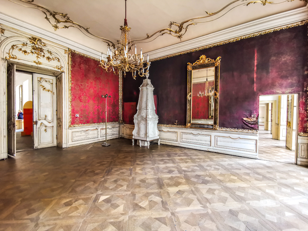 Praha - Colloredo-Mansfeldský palác