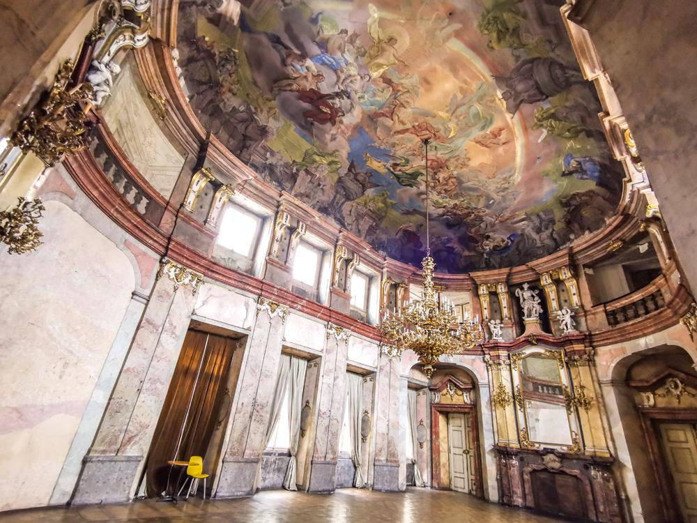 Zámky v Českej republike - Colloredo-Mansfeldský palác