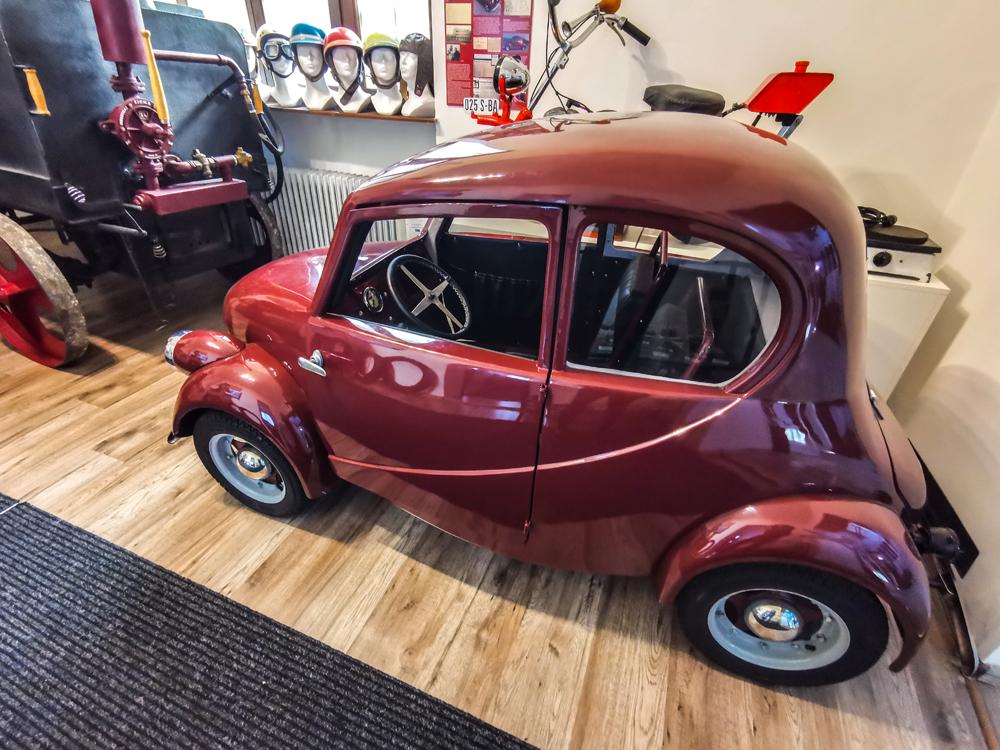 Rajecké Teplice - Model auta Súľov
