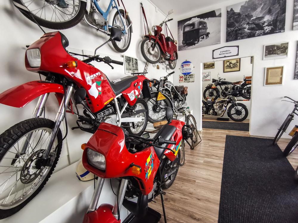 Expozícia motocyklov